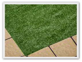 STEP 5:Cover area with artificial grass